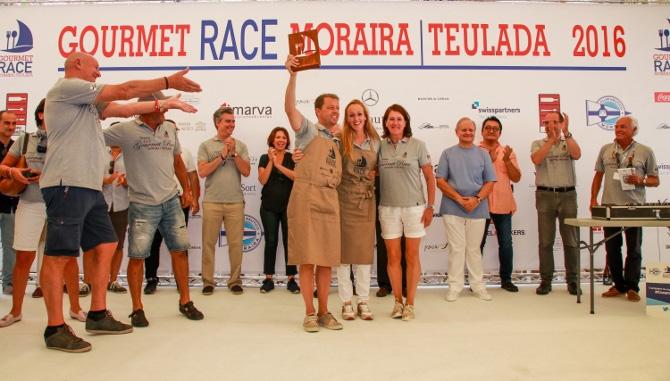 De Seranno primer premio en la V edición de la Gourmet Race de Teulada-Moraira